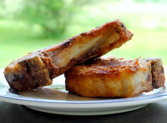 Recipe for tender fried pork chops