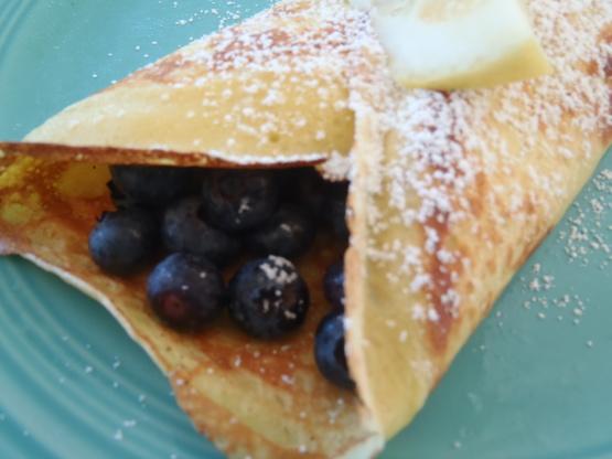 Norwegian Blueberry Breakfast Crepes Recipe - Genius Kitchen