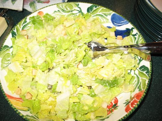 Roasted Caper Caesar Salad Recipes — Dishmaps
