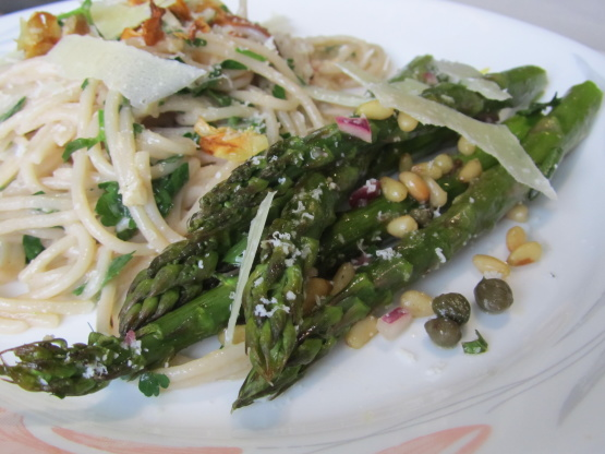 Tenderstem Broccoli With Shallot Vinaigrette And Croutons Recipe ...