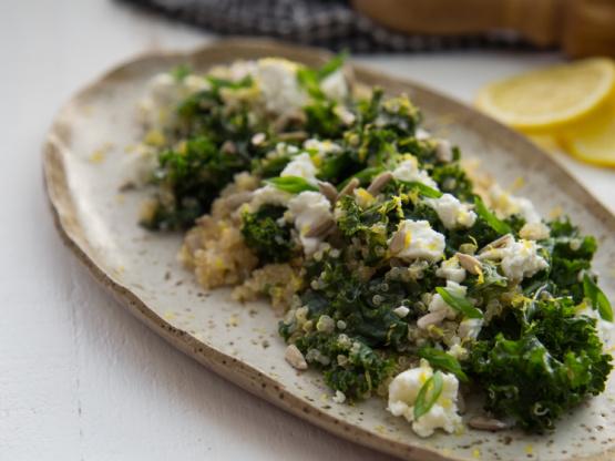 One Pot Kale And Quinoa Pilaf Recipe - Food.com