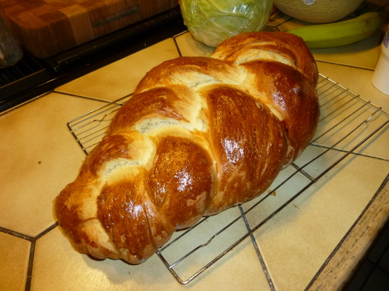 Jeanie grossingers hotel challah recipe genius kitchen - Kitchenaid challah ...