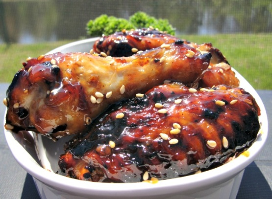 wings spicy bayou bourbon glazed wings glazed wings glazed wings ...