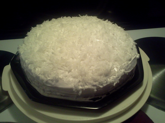 how to make a moist coconut cake