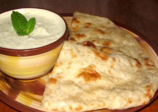 Homemade East Indian Naan Bread Made Easy) Recipe - Genius ...