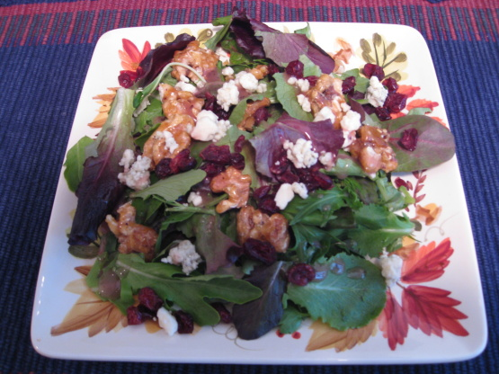 Missy's Candied Walnut Gorgonzola Salad Recipes — Dishmaps