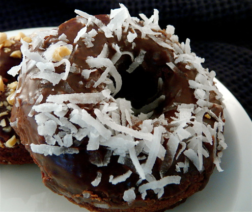 Baked Double Chocolate Donuts Gluten Free Recipe Genius