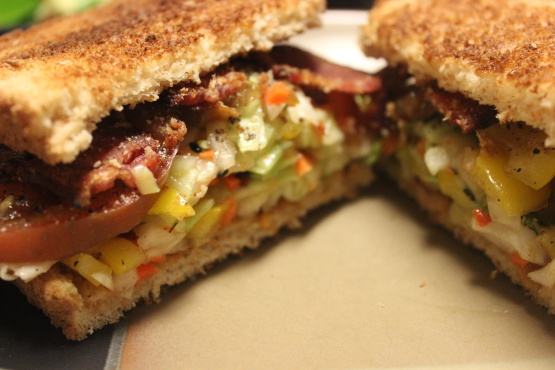 Bacon, Slaw And Tomato Sandwich Recipe - Food.com