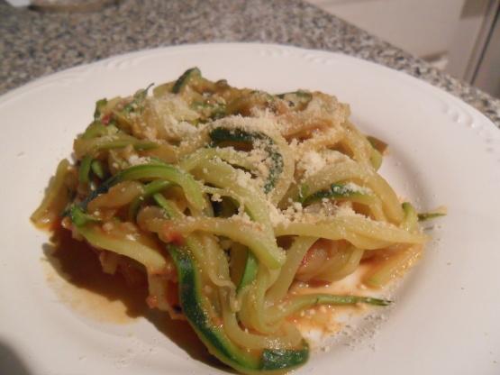 Zucchini Spaghetti Recipe Genius Kitchen