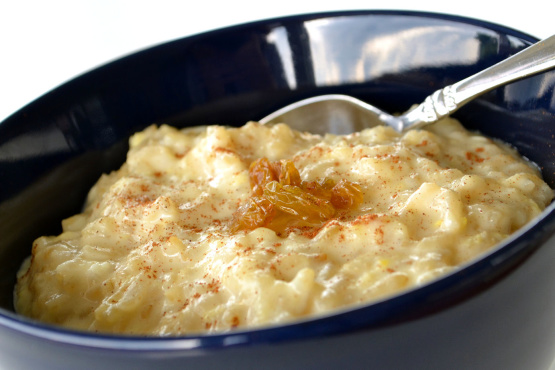 Yummy Creamy Rice Pudding Recipe - Food.com