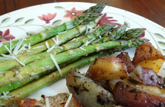 Old-Style Mustard And Rosemary Asparagus Recipe - Genius ...