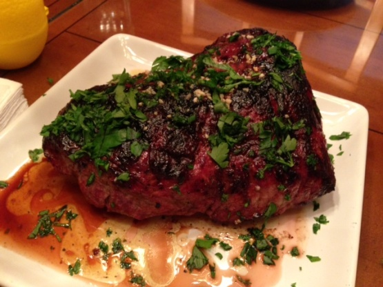 steak with st anselm s garlic steak this $ 16 butchers steak on garlic ...