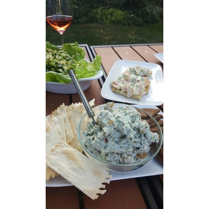 Date, Walnut And Blue Cheese Ball Recipe - Genius Kitchen