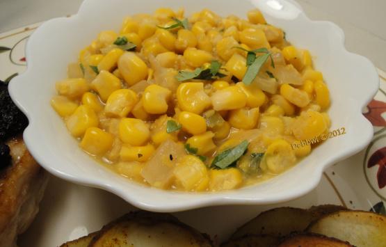 Spicy Creamed Corn Dairy-Free) Recipe
