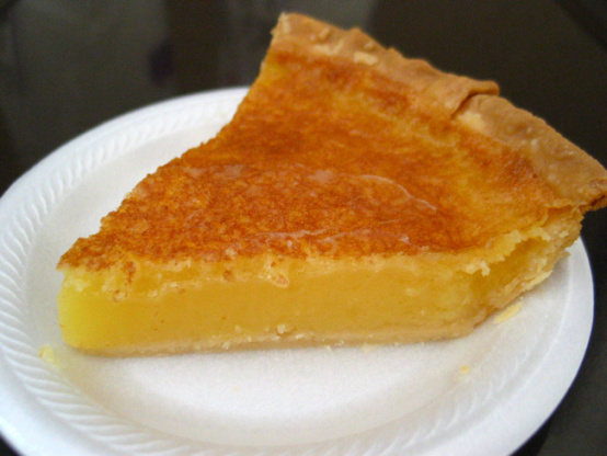 Image Gallery lemon chess pie
