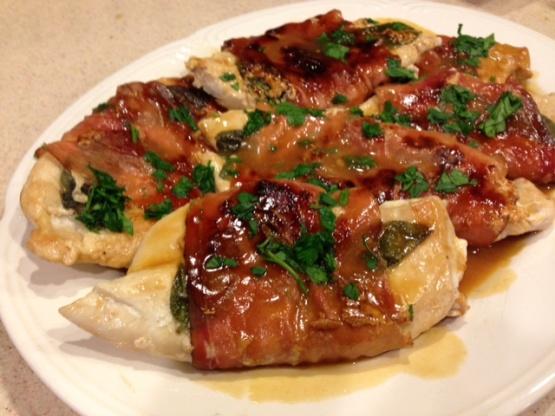 Lemony Chicken Saltimbocca Recipe