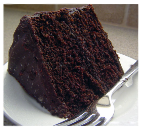 Double Chocolate Layer Cake Recipe Baking Food Com