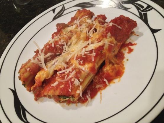 Manicotti pasta recipe food network