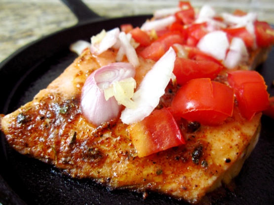 Chuckwagoncookies Pan Seared Crispy Skin Salmon Recipe