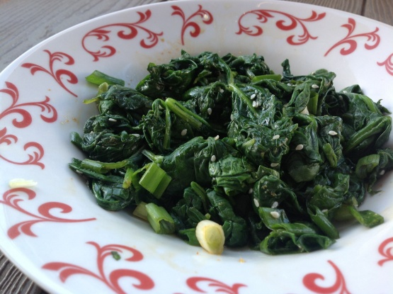 Seasoned Spinach Recipe - Food.com