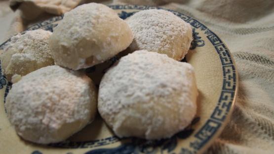 Greek powder cookies recipe