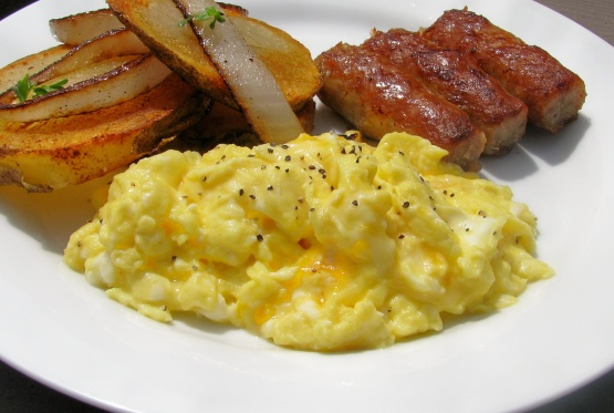 recipe: scrambled egg recipes with cheese [4]