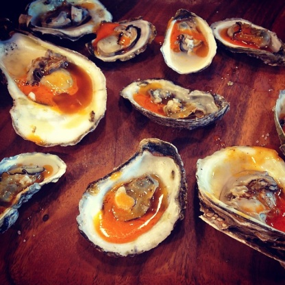 Roasted Oysters With Hot Sauce Recipe - Food.com