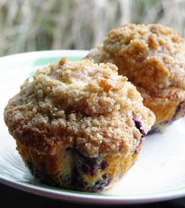 recipe: homemade blueberry muffins from scratch [20]