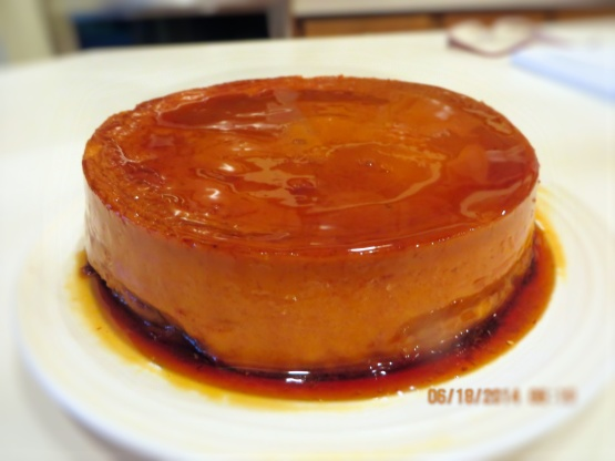 Good food recipes » Easy flan recipes with cream cheese
