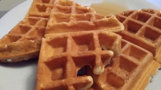 Cinnamon Belgian Waffles Recipe - Genius Kitchen