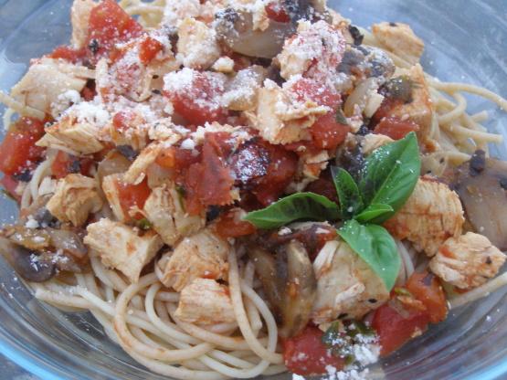 Italian herb chicken pasta recipe
