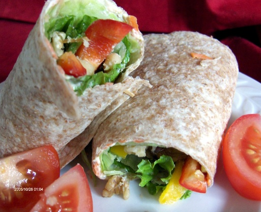 Wrap up lunch recipe genius kitchen for Bar food 62 pisa