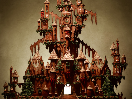 How To Build A Gingerbread Castle Genius Kitchen