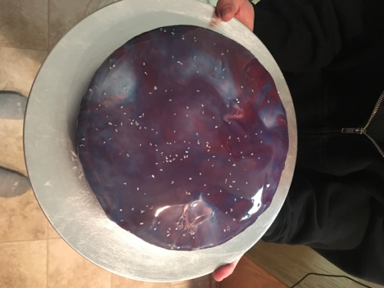 Galaxy Mirror Cake Recipe Food Com