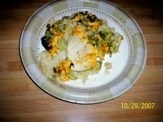 easy chicken broccoli cheese rice casserole recipe