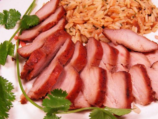 Recipe for chinese barbecue pork tenderloin