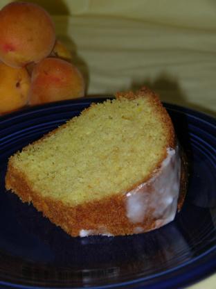 Lemon Bundt Cake With Apricot Nectar