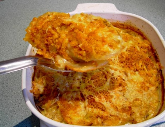 Potato Gratin With Mustard And Cheddar Cheese Recipe - Food.com
