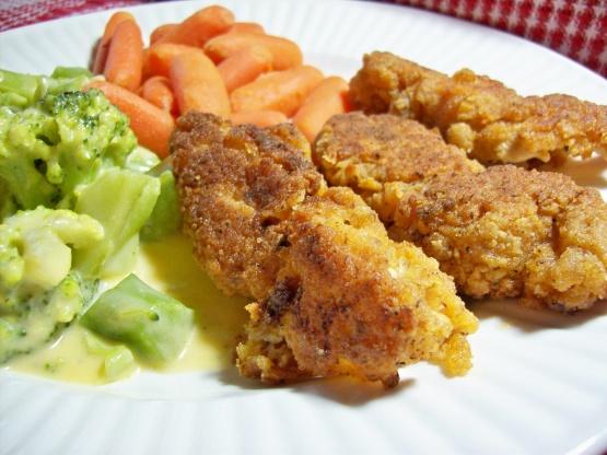 crispy deep fried chicken tenders recipe