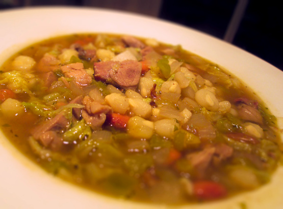 Posole Mexican Soup With Pork And Hominy) Recipe - Genius Kitchen