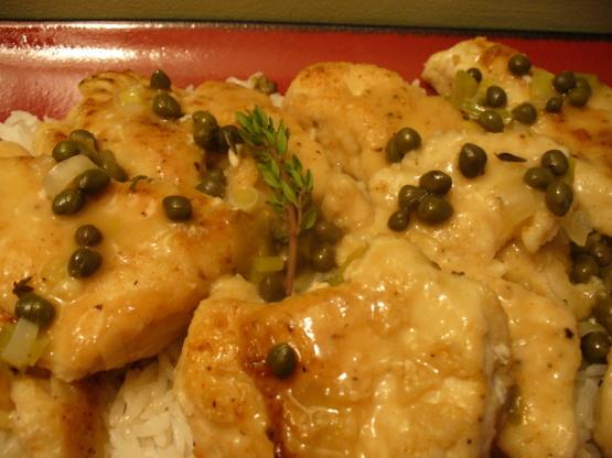 White wine and chicken breast recipe