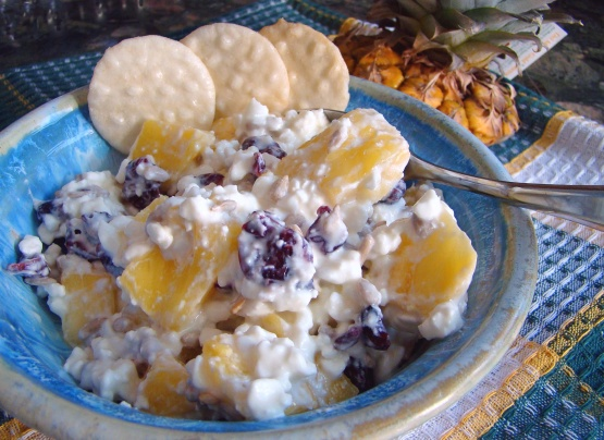 Pineapple Cottage Cheese Salad Recipe