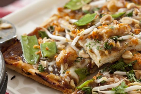 California Pizza Kitchen Frozen Pizza Instructions california pizza kitchen thai chicken pizza recipe - genius kitchen