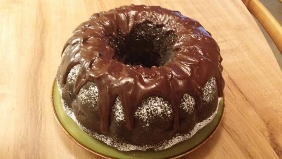 Heavenly chocolate raspberry bundt cake recipe