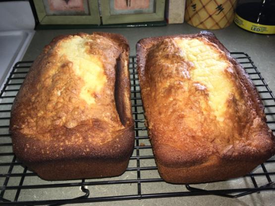 Sour Cream Pound Cake Recipe Food Com