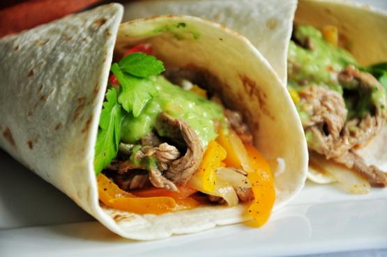 Steak or chicken fajitas recipe for Mexican food