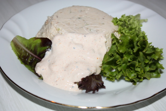 how to make salmon mousse