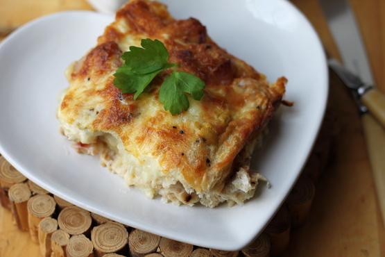 breakfast strata recipe - food