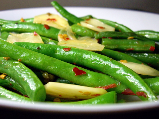 Green Beans Aglio Olio With Garlic And Olive Oil) Recipe - Food.com
