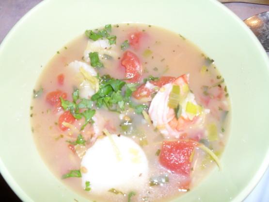 Spring Seafood Stew Recipe - Genius Kitchen